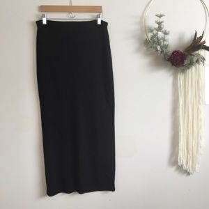 GAP | Vintage long black skirt